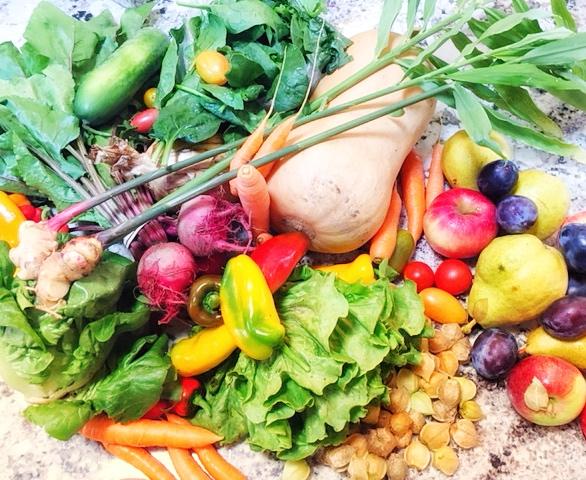 veg blog prep